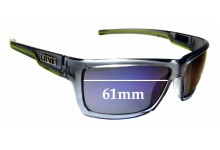 Sunglass Fix Replacement Lenses for Liive Twin Revo - 61mm wide