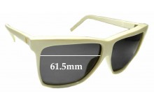 Sunglass Fix Replacement Lenses for Liz Claiborne - 61.5mm wide x 51mm high