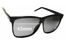 Sunglass Fix Replacement Lenses for Liz Claiborne - 62mm wide x 52.5mm high
