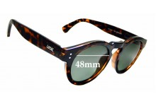 Sunglass Fix Replacement Lenses for Local Supply Freeway - 48mm wide