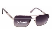 Sunglass Fix Replacement Lenses for Louis Vuitton Z0260U - 59mm wide