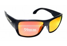 Sunglass Fix Replacement Lenses for Mako Covert 9596 - 59mm wide