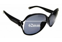 Sunglass Fix Replacement Lenses for Marc By Marc Jacobs 90/F/S - 62mm Wide
