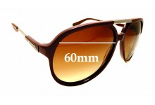 Sunglass Fix Replacement Lenses for MARC BY MARC JACOBS MMJ 327/S - 60mm Wide