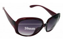 Sunglass Fix Replacement Lenses for Marc Jacobs MMJ206/F/S - 59mm wide