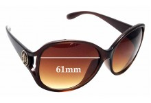Sunglass Fix Replacement Lenses for Marc Jacobs  MMJ208/K/S - 61mm wide
