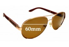 Sunglass Fix Replacement Lenses for Marc By Marc Jacobs MMJ 378S - 60mm Wide