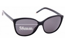 Sunglass Fix Replacement Lenses for MARC BY MARC JACOBS Sun Rx 01 - 58mm wide
