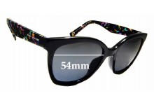 Sunglass Fix Replacement Lenses for Marc Jacobs Sun Rx 02 - 54mm wide