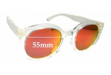 Sunglass Fix Replacement Lenses for Marc Lloyd Venus - 55mm wide