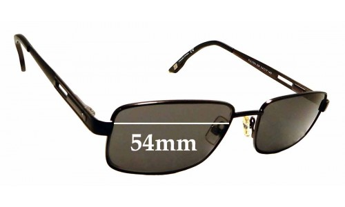 Sunglass Fix Replacement Lenses for Marchon East Side Fulton - 54mm Wide