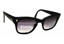 Sunglass Fix Replacement Lenses for Martin Wells Envoy - 46mm wide