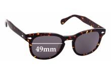Sunglass Fix New Replacement Lenses for Moscot / Originals Gelt - 49mm Wide