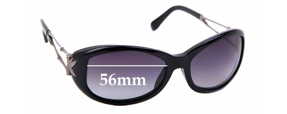 Sunglass Fix Replacement Lenses for Maui Jim MJ215 Alana - 56mm Wide