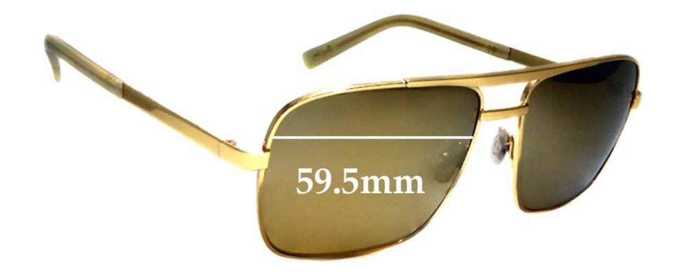 Sunglass Fix Replacement Lenses for Maui Jim Compass MJ714 - 59.5mm wide