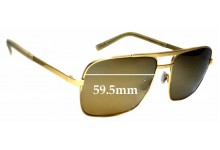 Sunglass Fix Replacement Lenses for Maui Jim Compass MJ714 - 59.5mm wide