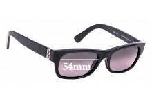 Sunglass Fix Replacement Lenses for Maui Jim Dive Deep MJ242 -54mm wide
