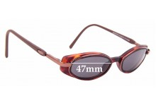 Sunglass Fix Replacement Lenses for Maui Jim Hana MJ124 - 47mm wide