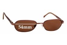 Sunglass Fix Replacement Lenses for Maui Jim Hilo MJ133 - 54mm wide