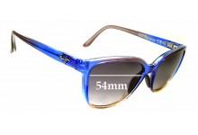 Sunglass Fix Replacement Lenses for Maui Jim Honi MJ758 - 54mm wide