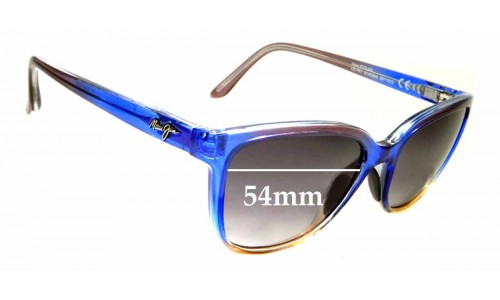 Sunglass Fix Replacement Lenses for Maui Jim Honi MJ758 - 54mm wide
