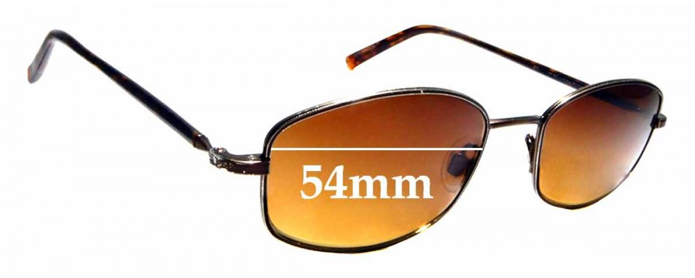 Sunglass Fix Replacement Lenses for Maui Jim Kohala MJ711 - 54mm Wide