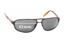 Sunglass Fix Replacement Lenses for Maui Jim MJ232-2 Lahainaluna - 61mm Wide