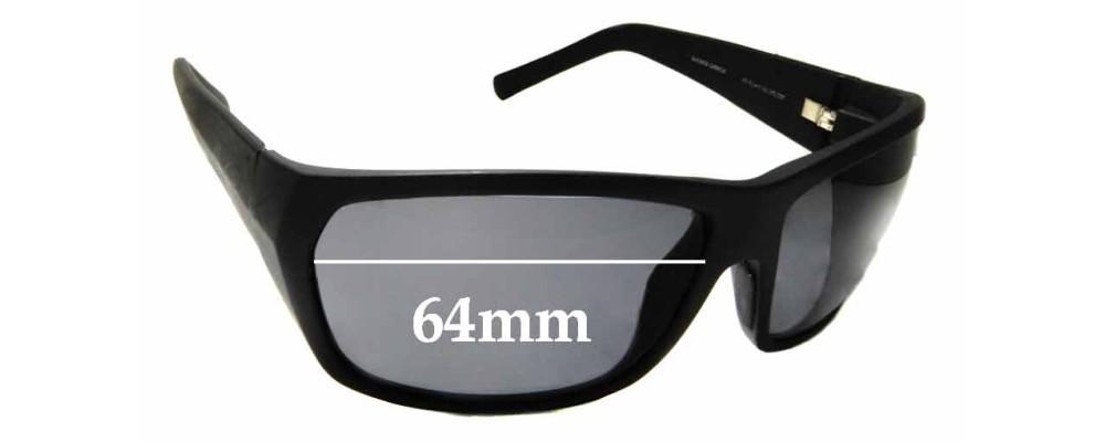 Sunglass Fix Replacement Lenses for Maui Jim MJ265 Waimea Canyon - 64mm wide