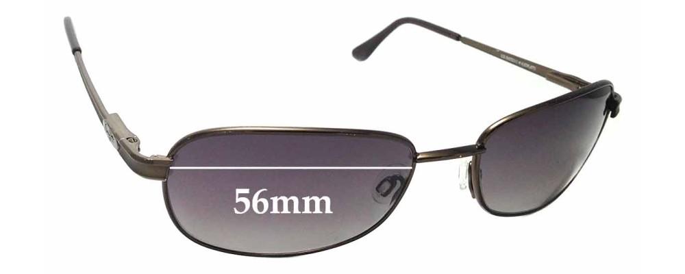 Sunglass Fix Replacement Lenses for Maui Jim MJ131 Islanders - 56mm Wide