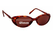 Sunglass Fix Replacement Lenses for Maui Jim MJ147 Cabana - 48mm wide