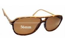 Sunglass Fix Replacement Lenses for Maui Jim Dawn Patrol MJ223 - 56mm wide