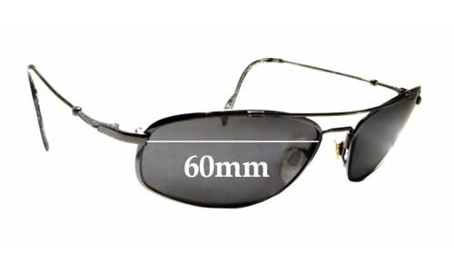 Sunglass Fix Replacement Lenses for Maui Jim MJ303 Big Island - 60mm wide