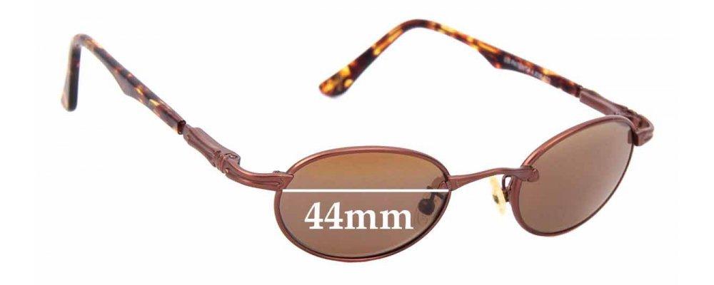 Sunglass Fix Replacement Lenses for Maui Jim Tiny Bubbles MJ143 - 44mm wide