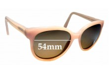 Sunglass Fix Replacement Lenses for Max & Co Sun Rx 03 - 54mm wide