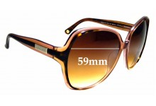 Sunglass Fix Replacement Lenses for Michael Kors Capri MK234 - 59mm wide