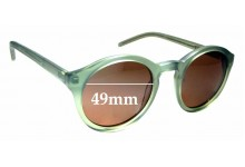 Sunglass Fix Replacement Lenses for Monokel Barstow - 49mm wide