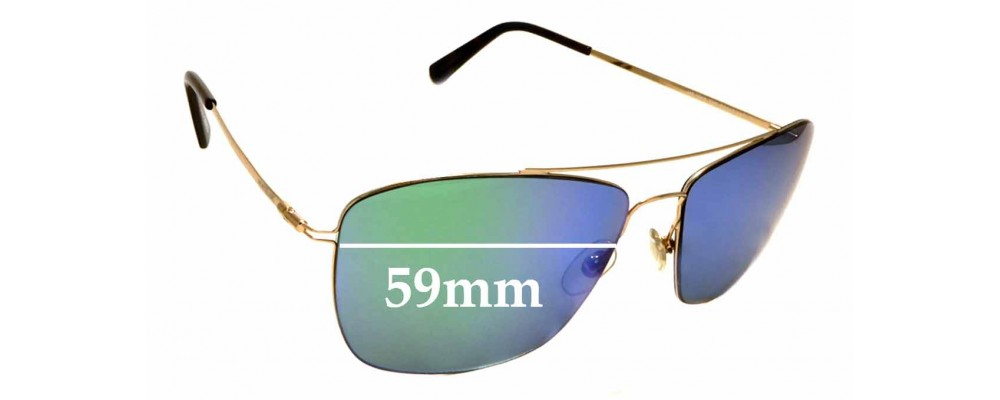 Sunglass Fix Replacement Lenses for Montblanc MB 594S 59mm wide