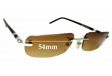 Sunglass Fix Replacement Lenses for Montblanc MB 86S - 54mm wide