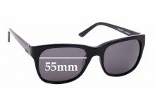Sunglass Fix Replacement Lenses for Morrissey Suave - 55mm wide