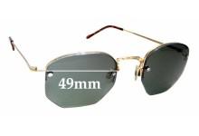 Sunglass Fix New Replacement Lenses for Moscot / Originals Mazel - 49mm Wide