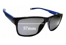 Sunglass Fix Replacement Lenses for Nautica N6203S - 57mm wide
