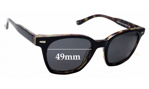 Sunglass Fix Replacement Lenses for Neville & Lewis NL004 - 49mm Wide