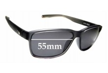 Sunglass Fix Replacement Lenses for Nike Live Free 7092 - 55mm wide