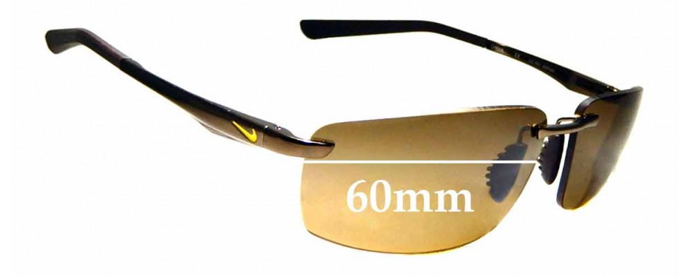 fd73daef71 Nike Avid EV0567Replacement Lenses 61mm Wide by The Sunglass Fix®