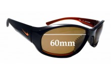 Sunglass Fix Replacement Lenses for Nike Karma EVO581 - 60mm wide