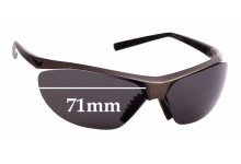 Sunglass Fix Replacement Lenses for Nike Impel Swift EV0476 - 71mm wide