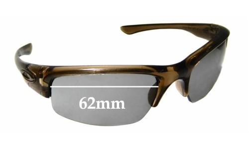 Sunglass Fix Replacement Lenses for Oakley Bottlecap - 62mm wide