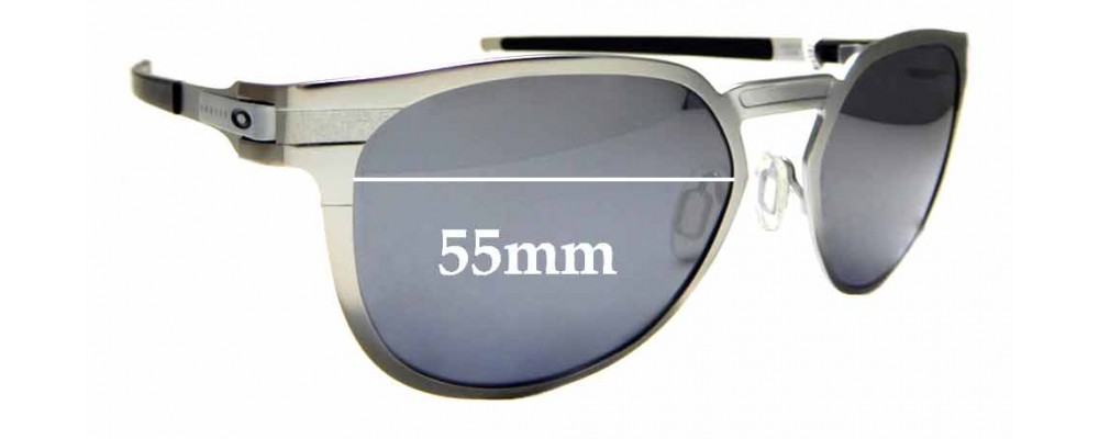 Sunglass Fix Replacement Lenses for Oakley Diecutter OO4137 - 55mm wide