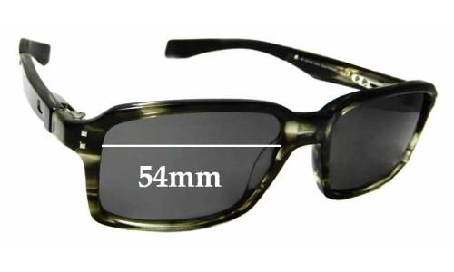 Sunglass Fix Replacement Lenses for Oakley Fat Cat - 54mm wide