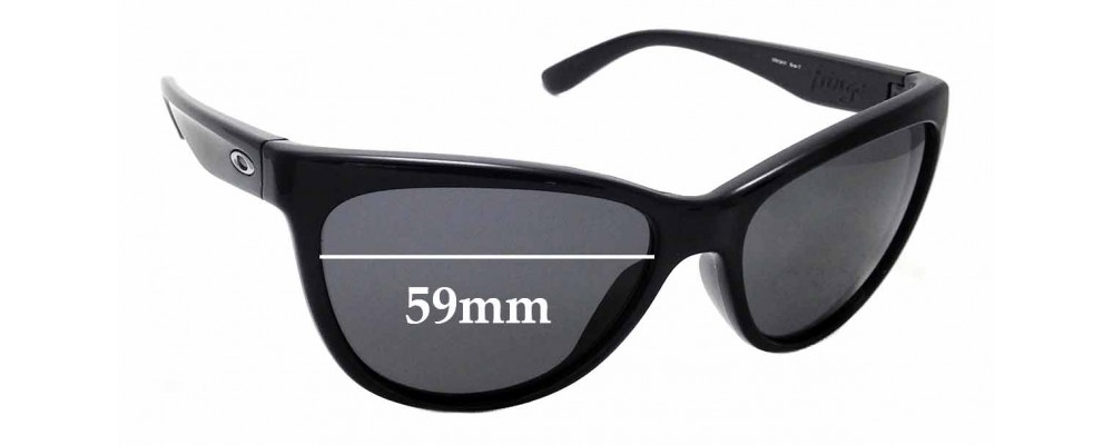 Sunglass Fix Replacement Lenses for Oakley Fringe OO9124- 59mm Wide